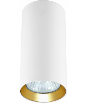 Lampa plafon MANACOR LP-232/1D - 170 biały/złoty 17 cm LIGHT PRESTIGE