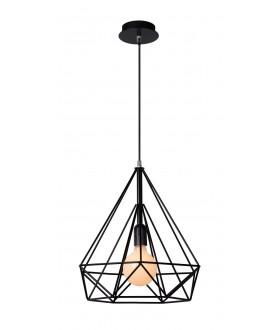 Lampa stołowa POLI 06508/01/30 czarna LUCIDE