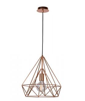 Lampa wisząca RICKY 06496/37/30 czarna LUCIDE