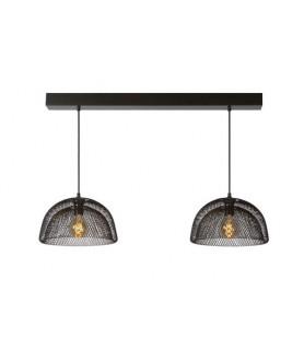 Lampa wisząca MESH 78387/01/30 czarna LUCIDE
