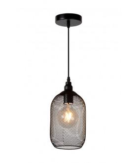 Lampa wisząca MESH 78387/02/30 czarna LUCIDE