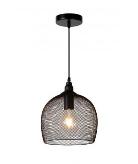 Lampa wisząca MESH 43404/15/30 czarna LUCIDE
