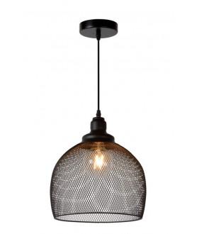 Lampa wisząca MESH 43404/22/30 czarna LUCIDE