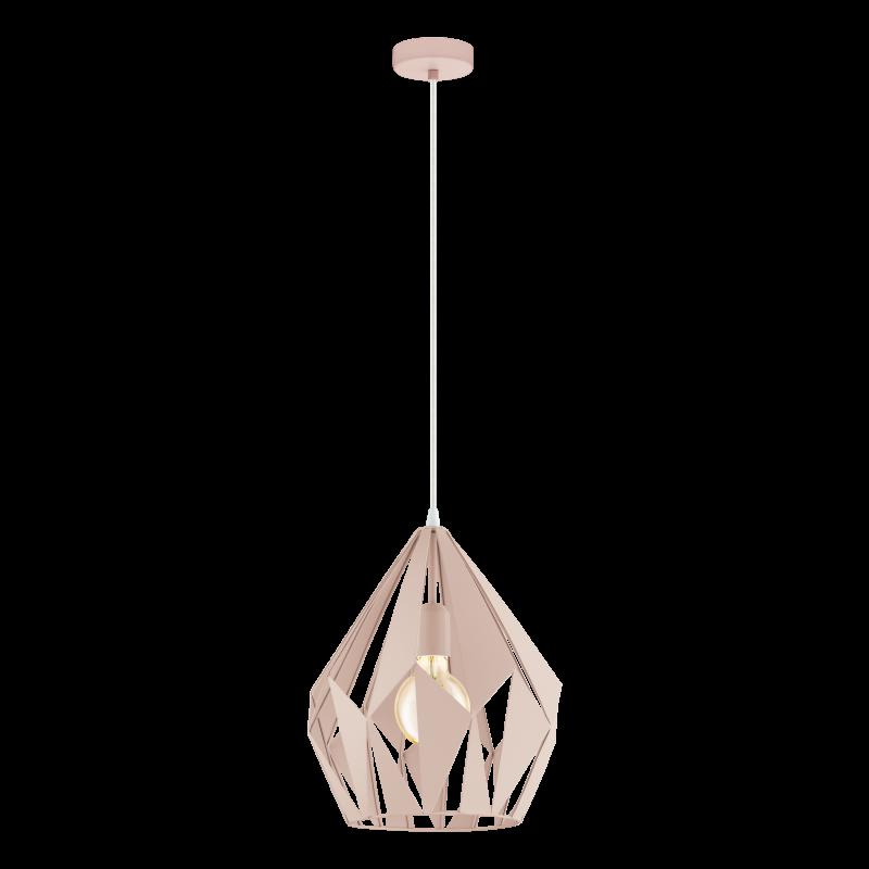 Lampa wisząca CARLTON-P 49024 pastelowy morelowy EGLO