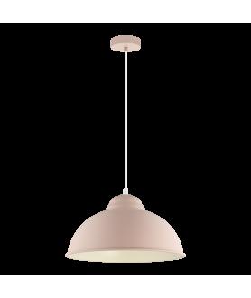 Lampa wisząca TURBO-P 49058 pastelowy morelowy EGLO