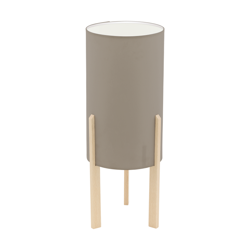 Lampa stołowa CAMPODINO 97893 szary EGLO