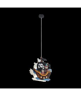 Lampa wisząca SAN CARLO 97409 wielokolorowy EGLO