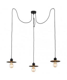 Lampa wisząca FARO 1350 czarny ARGON