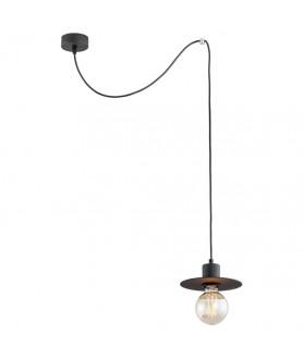 Lampa wisząca FARO 3737 czarny ARGON