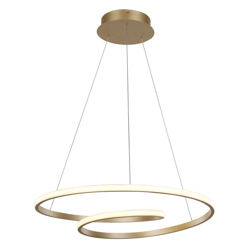 Lampa wisząca CAPITA MD17011011-1A GOLD złoty ITALUX