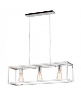 Lampa wisząca SIGALO MD-BR4367-D3 CH chrom ITALUX