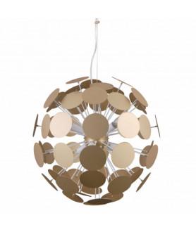 Lampa wisząca MAILONE AD20180/6D GD złoty ITALUX