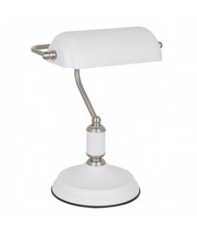 Lampa stołowa PABLO MT-HN2088 WH+S.NICK biały ITALUX