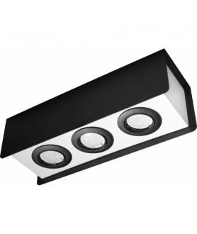 Plafon STEREO SL.0411 czarny/biały SOLLUX