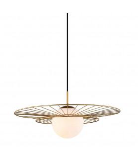 Lampa wisząca ALISON MDM-4001/1 GD złoty ITALUX