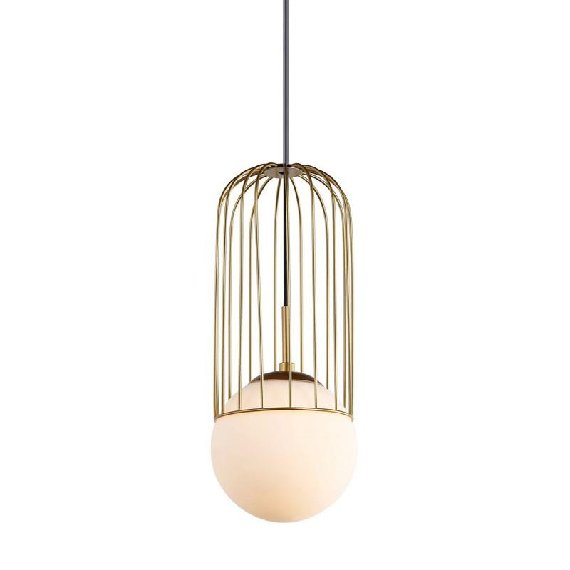 Lampa wisząca MATTY MDM-3939/1 GD złoty ITALUX