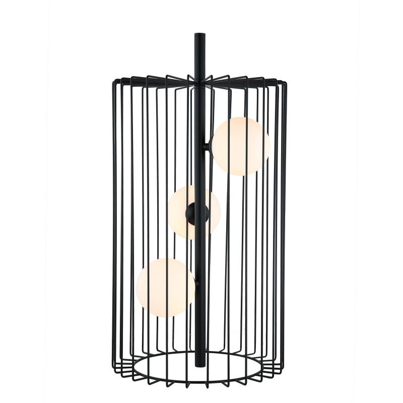 Lampa wisząca HAYDEN MTM-3935/3 BK czarny ITALUX