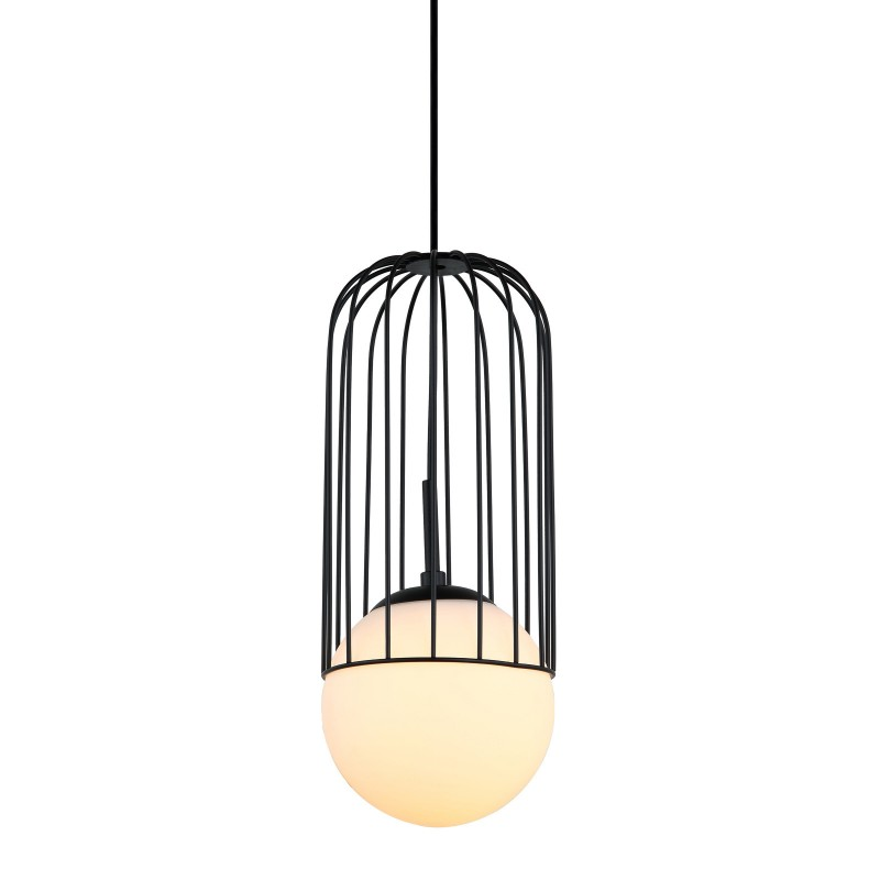 Lampa wisząca MATTY MDM-3939/1 BK czarny ITALUX