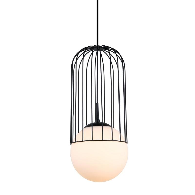 Lampa wisząca MATTY MDM-3940/1 BK czarny ITALUX