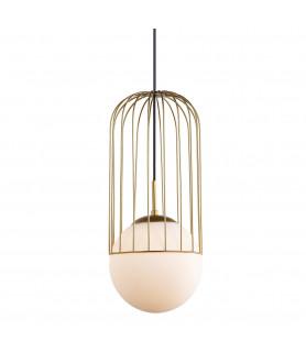 Lampa wisząca MATTY MDM-3940/1 GD złoty ITALUX