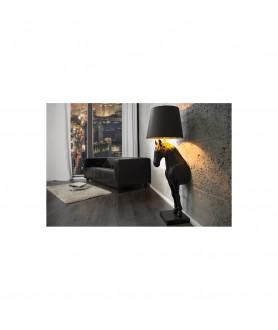 Lampa podłogowa HORSE AC249SW-GD/PYS2-1 czarny KING HOME