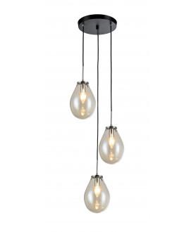 Lampa wisząca FONDI 3 LP-1214/3P przeźroczysty LIGHT PRESTIGE