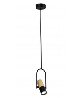 Lampa wisząca BOVINO 1 LP-1111/1P czarny LIGHT PRESTIGE