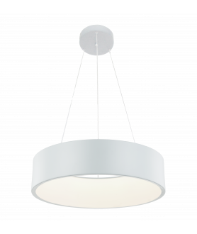 Lampa wisząca MALAGA LP-622/1P WH biały LIGHT PRESTIGE