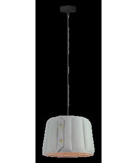 Lampa wisząca VITORIA LP-6030/1P L szary LIGHT PRESTIGE