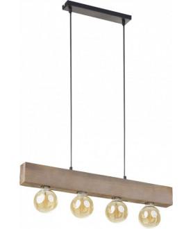 Lampa wisząca ARTWOOD 2665T brązowy TK LIGHTING