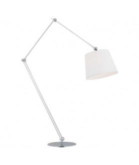 Lampa podłogowa ZAKYNTOS BIS 3953 biały/chrom ARGON