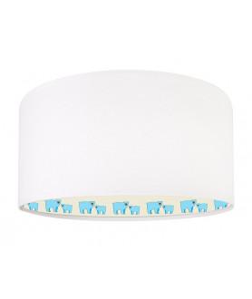 Lampa wisząca MIŚ POLARNY 030-266 biały/błękitny MACO DESIGN