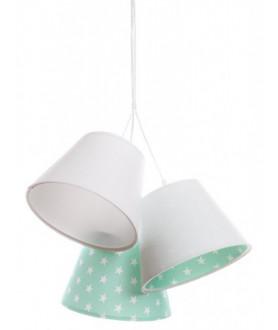 Lampa wisząca KAJA 070-081 biały/turkusowy MACO DESIGN