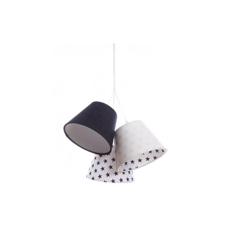 Lampa wisząca LENA 070-088 biały/granatowy MACO DESIGN