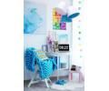 Lampa wisząca SANDRA 070-093 biały/niebieski MACO DESIGN