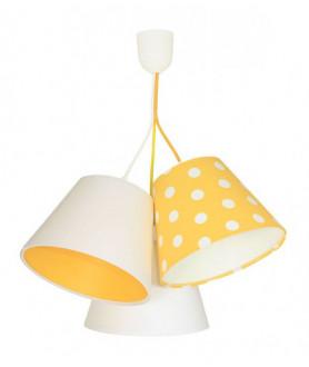 Lampa wisząca 070-108 biały/pomarańczowy MACO DESIGN