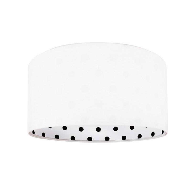 Lampa wisząca CALINECZKA 020-078 biały/czarne kropki MACO DESIGN