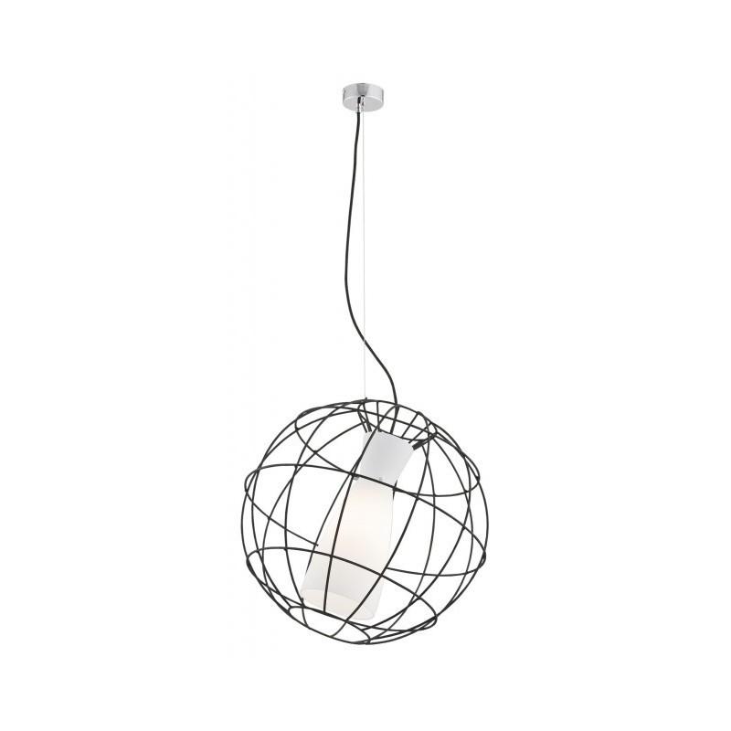 Lampa wisząca MONDEGO 3169 czarny/biały ARGON
