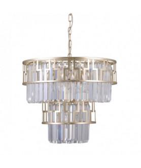 Lampa wisząca FILIP PND-43493-7 złoty ITALUX