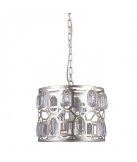 Lampa wisząca MOMENTO PND-43400-3 srebrny ITALUX