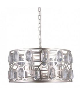 Lampa wisząca MOMENTO PND-43400-6 srebrny ITALUX