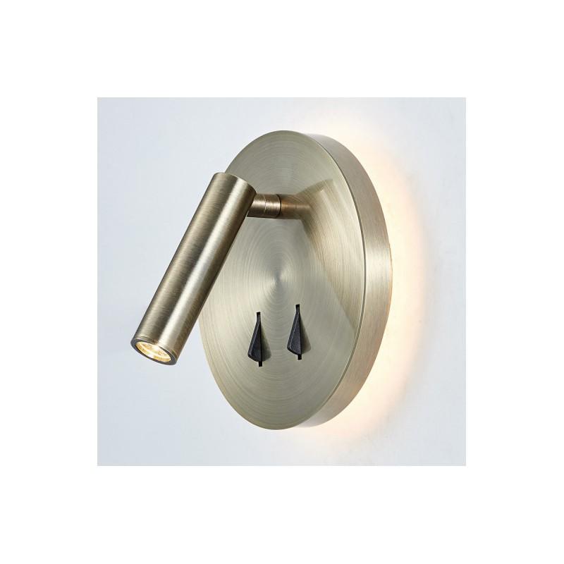 Lampa nocna NEMO SP.7348-02A-ANT-B brąz antyczny ITALUX