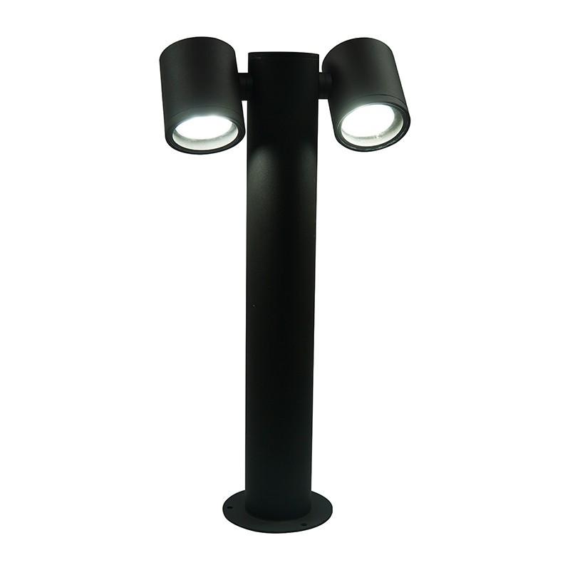 Lampa słupek zewnętrzny PINO 311603 podwójny reflektor SANICO