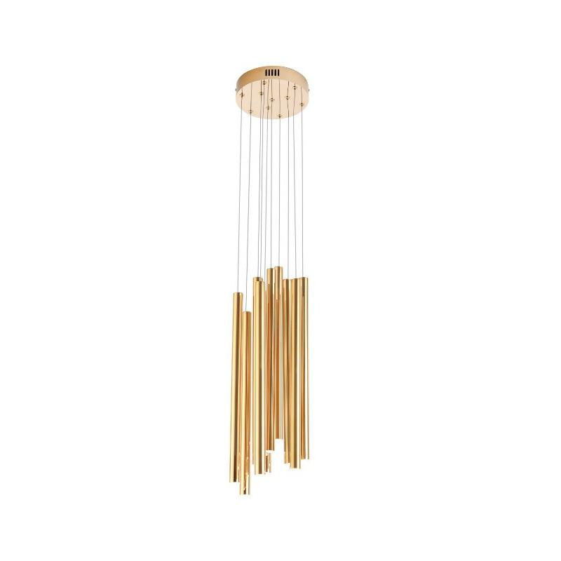 Lampa wisząca ORGANIC złota P0265  MAX LIGHT