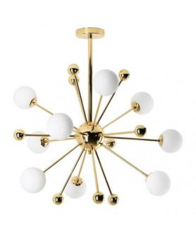 Lampa wisząca Avila 9 743/9 złota LAMPEX