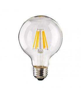 ŻARÓWKA LED 8W Kulka E27 4000k filament EDISON