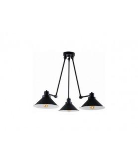 Lampa wisząca TECHNO III 9142 czarno biała NOWODVORSKI