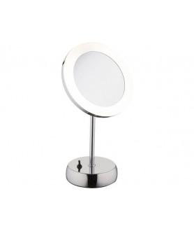 Lampa stojąca MAKEUP LED 9504 biała srebrna NOWODVORSKI
