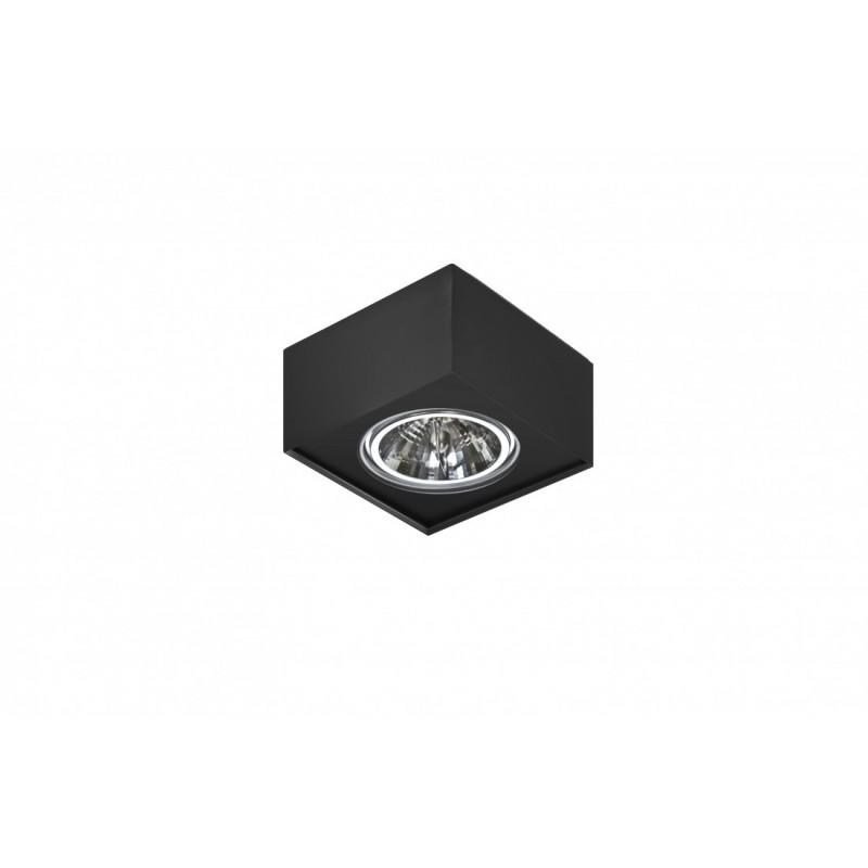 PLAFON BOX PAULO 1 12V czarny AZ2891 AZZARDO