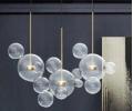 Lampa wisząca GRAPE 3 listwa złoty/przeźroczysty CUDNE LAMPY